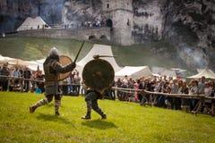 Festival da cultura medieval Fotografia de Stock Royalty Free