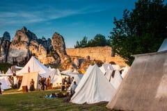 Festival da cultura medieval Foto de Stock Royalty Free