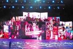 Festival 2019 da dança de Karmiel imagens de stock
