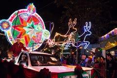 Festival da estrela o Natal fotografia de stock