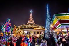 Festival da estrela o Natal imagem de stock