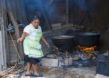 Festival da flor & da palma em Panchimalco, El Salvador Imagens de Stock Royalty Free