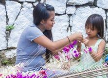 Festival da flor & da palma em Panchimalco, El Salvador Fotografia de Stock Royalty Free
