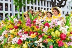 Festival da flor de Madeira Fotografia de Stock Royalty Free