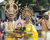 Festival da flor de Tailândia Chiang Mai Fotos de Stock Royalty Free