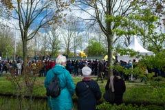 Festival da flor em Keukenhof na mola em março de 2017 Fotografia de Stock