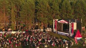 Festival da música do autor em Rússia vídeos de arquivo