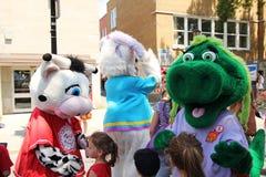 Festival da mascote fotografia de stock