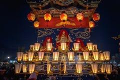 Festival da noite de Chichibu imagens de stock