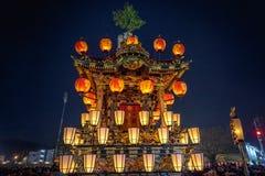 Festival da noite de Chichibu imagem de stock