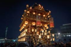 Festival da noite de Chichibu fotografia de stock