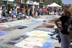 Festival da pintura Fotografia de Stock Royalty Free