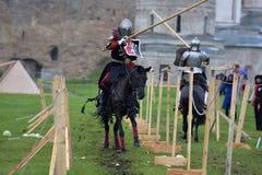 Festival da reconstrução medieval Fotos de Stock Royalty Free