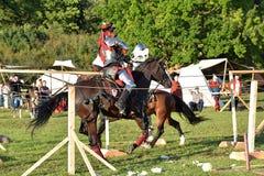 Festival da reconstrução medieval Imagem de Stock