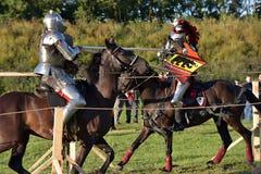 Festival da reconstrução medieval Fotografia de Stock