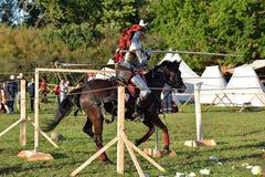 Festival da reconstrução medieval Foto de Stock