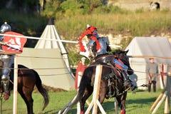 Festival da reconstrução medieval Foto de Stock Royalty Free