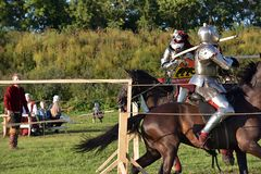 Festival da reconstrução medieval Imagem de Stock Royalty Free