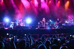 Festival da saída - Portishead Fotografia de Stock