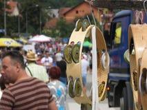 Festival 2018 da trombeta de Guca foto de stock