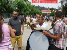 Festival 2018 da trombeta de Guca imagem de stock