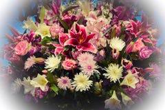 Festival das flores na cidade de Baku, Azerbaijão Imagem de Stock Royalty Free