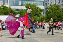 Festival das ruas 2015 de Ostrava Foto de Stock Royalty Free