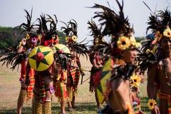 Festival 2017 de Aliwan, cidade de Pasay, Filipinas foto de stock royalty free