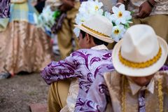 Festival 2017 de Aliwan, cidade de Pasay, Filipinas Fotografia de Stock