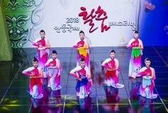 Festival 2018 de Andong Maskdance imagenes de archivo