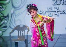 Festival 2018 de Andong Maskdance fotografía de archivo