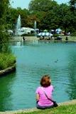 Festival de arte das proximidades do lago Foto de Stock Royalty Free