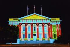 Festival de artes de la noche blanca de Geelong libre illustration