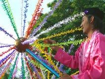 Festival de artes indonesio fotos de archivo