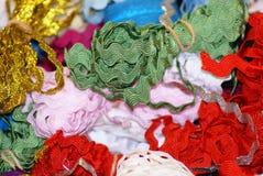 Festival de atascamientos coloreados Foto de archivo libre de regalías