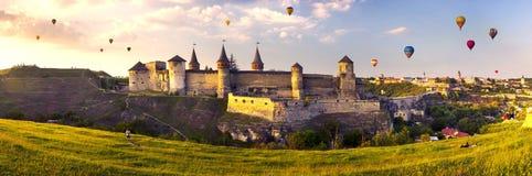 Festival de balões de ar Fotografia de Stock