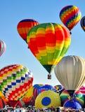 Festival de ballon d'Albuquerque au Nouveau Mexique Images stock