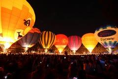 Festival de ballon dans Chiangmai Image libre de droits