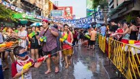 Festival de Banguecoque Songkran Imagens de Stock