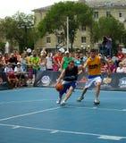 Festival de basket-ball de rue à Riazan image stock