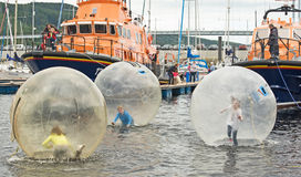 Festival de bateau d'Inverness. Photos libres de droits