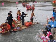 Festival de bateau de dragon dans Guizhou Huishui Images stock
