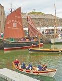 Festival 2013 de bateau de Portsoy Photographie stock libre de droits