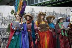 Festival de beaucoup d'octobre Image libre de droits