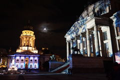 Festival de Berlim de luzes Fotografia de Stock