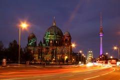 Festival de Berlin des lumières Photographie stock libre de droits