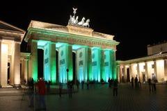 Festival de Berlin des lumières Image stock