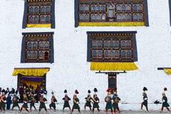 Festival de Bhután foto de archivo