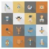 Festival de bière d'Oktoberfest Illustration de couleur Photographie stock