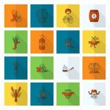 Festival de bière d'Oktoberfest Illustration de couleur Photographie stock libre de droits